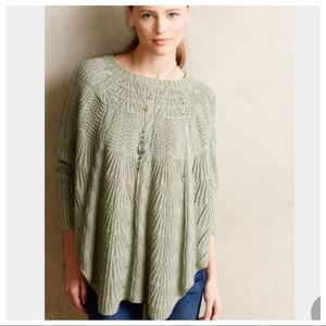 Angel of the North Mirabelle poncho sweater